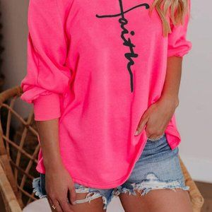 """TOP-""""NEW"""" One-Shoulder Long Sleeves Casual T-shirt"""